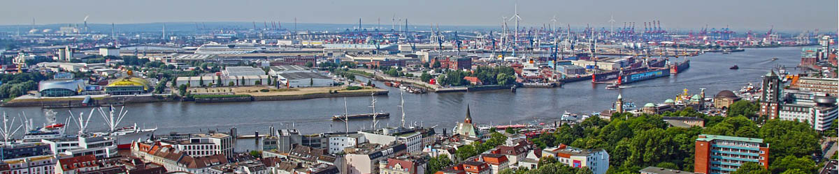 EIn Überblick über den Hamburger Hafen