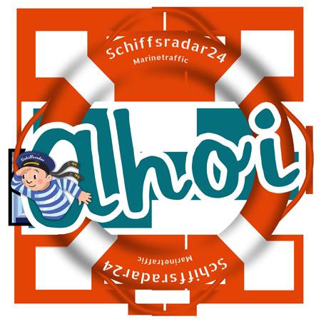 Ahoi Rettungsring - Grüße vom Schiffsradar